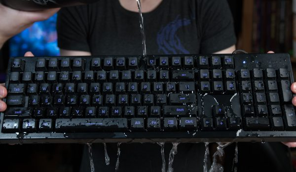 Mother Membrane | Water-Resistant, 7 Color LED, Gaming Keyboard