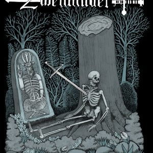 "Zweihänder: Wait Here | 16"" x 20"" Limited Edition Fine Art Print"