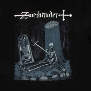 Wait Here - Zweihänder Concept Art | Men's Black T-Shirt