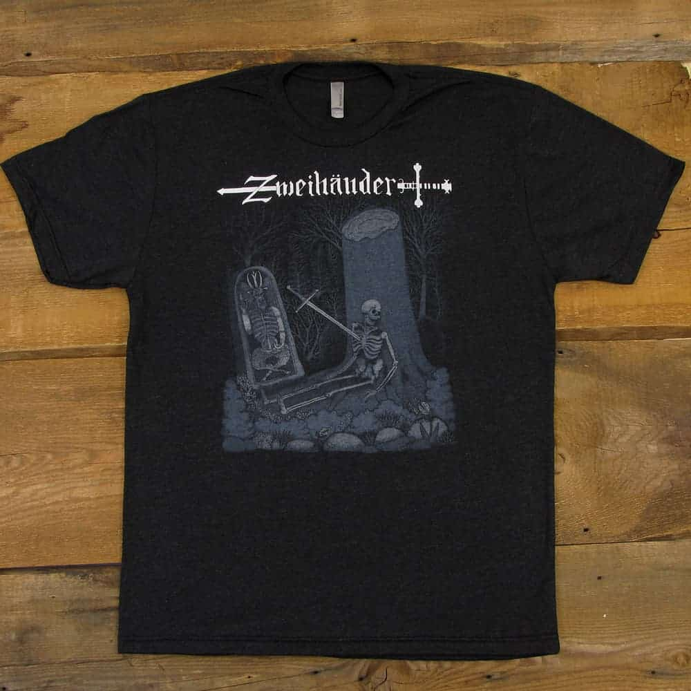 Wait Here - Zweihänder Concept Art | Tri-Blend Men's T-Shirt