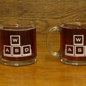 Glass Mug - 13 oz. | WASD