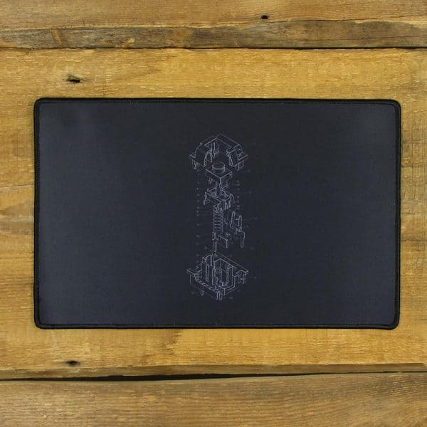 Cherry MX Patent Design Mousepad | 40cm x 25cm x 2mm