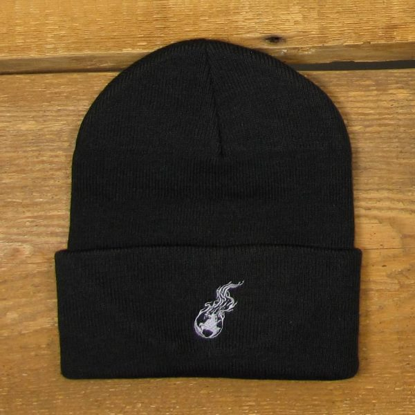 Burning Earth | Roll Front Knit Cap