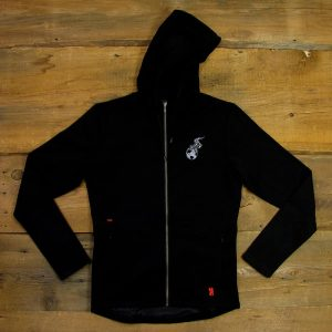 Burning Earth | Chrome Cobra Merino Wool Hoodie