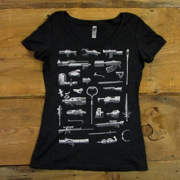Weapons of PC Gaming | Women's Scoop Neck Tri-Blend T-Shirt