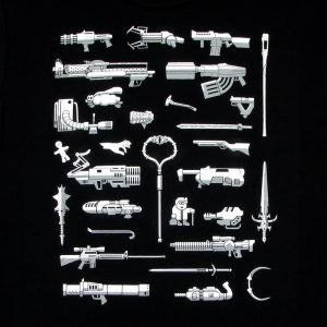 Weapons of PC Gaming | Men's Black T-Shirt