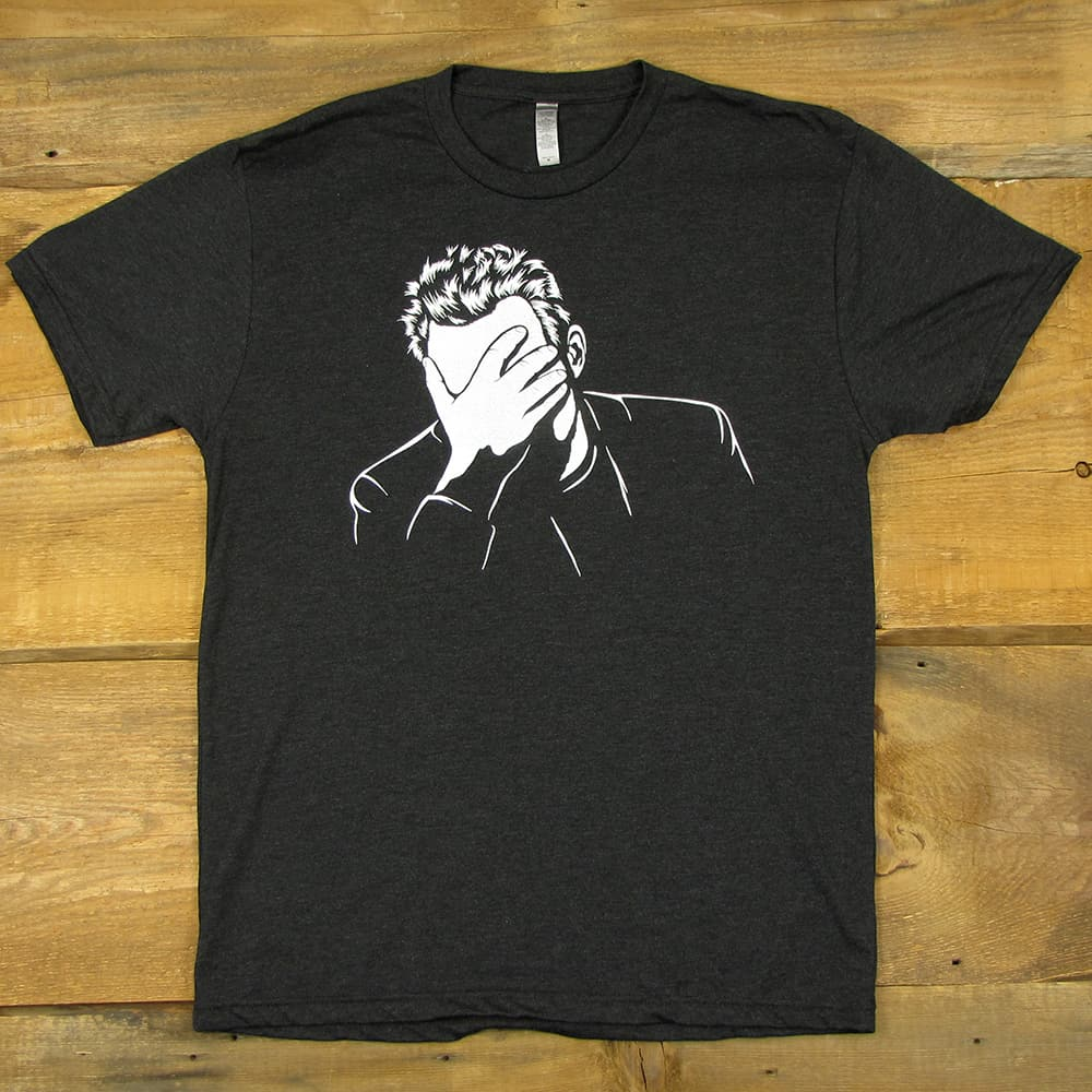 Face Palm | Tri-Blend Men's T-Shirt