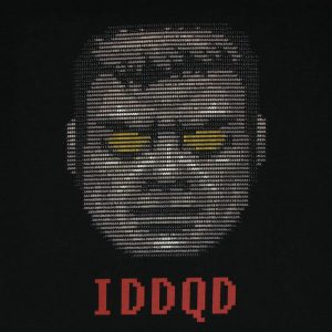 God Mode ASCII | Men's Black T-Shirt