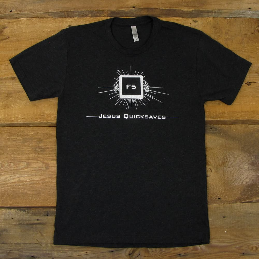 Jesus Quicksaves | Tri-Blend Men's T-Shirt