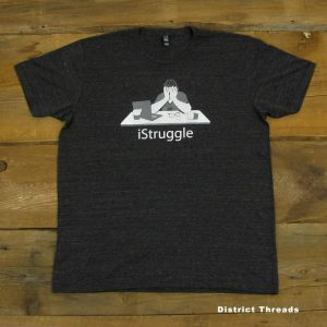 iStruggle | Tri-Blend Men's T-Shirt