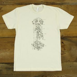 Cherry MX Patent | Natural T-Shirt | Limited Edition