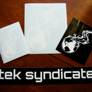 Tek Syndicate Sticker Pack | 4-Piece Gift Set