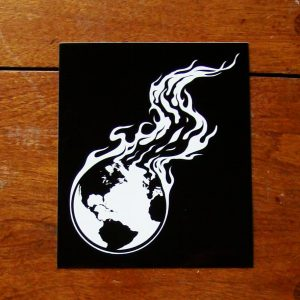 Burning Earth | Bumper Sticker