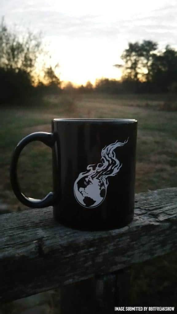 Ceramic Mug - 11 oz. | Burning Earth Logo