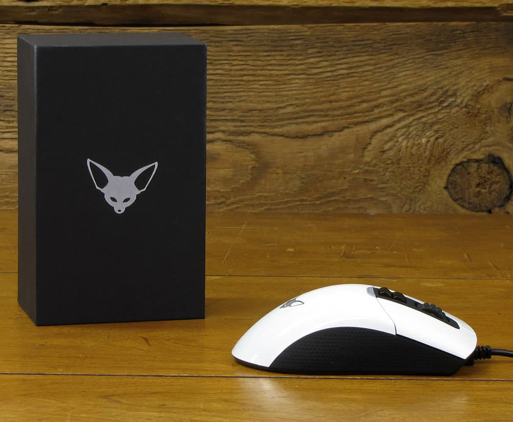 Fenek Standard Issue Gaming Mouse- Arctic Fox | 3310 Sensor, RGB
