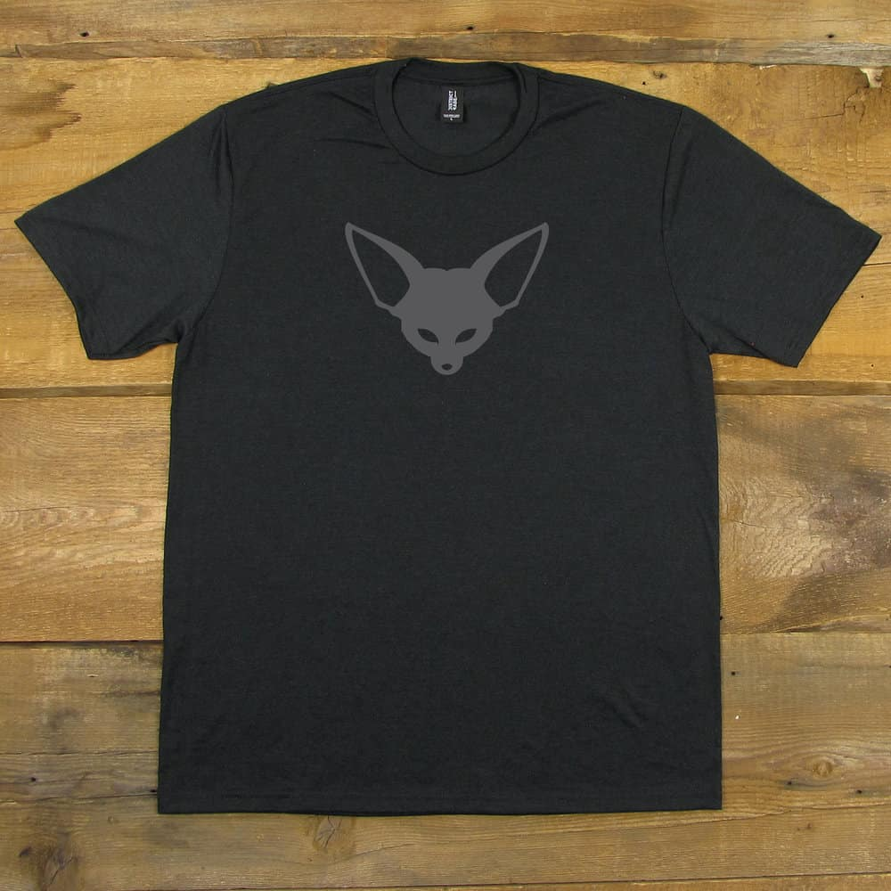 Fenek Logo | Tri-Blend Men's T-Shirt