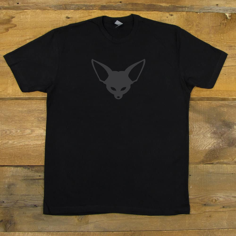Fenek Logo | Men's Black T-Shirt