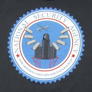 NSA Free Offsite Backup | Men's Charcoal T-Shirt