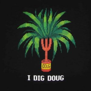I Dig Doug | Men's Black T-Shirt