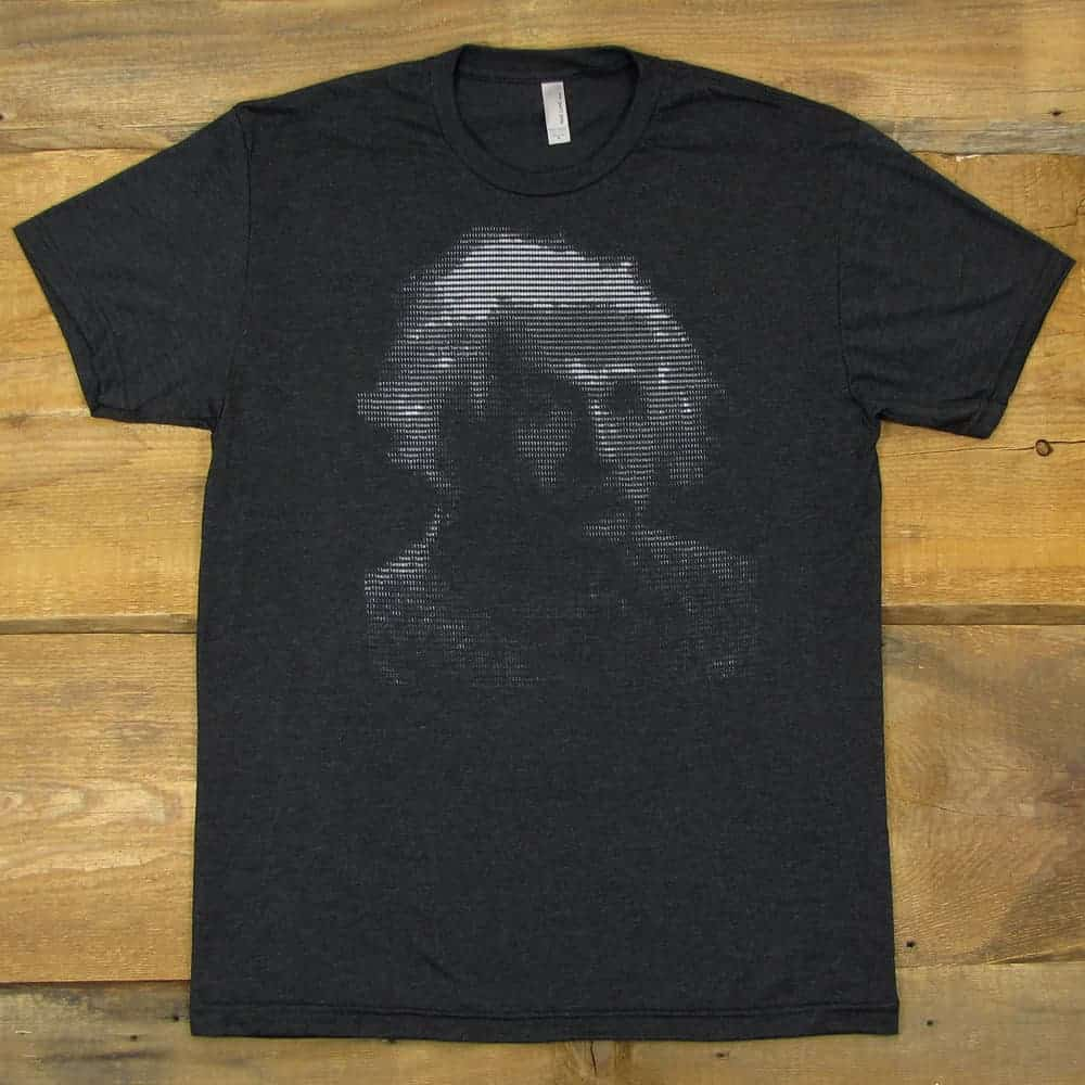 Albert Einstein ASCII Art | Tri-Blend Men's T-Shirt