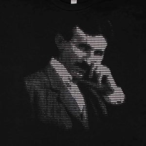 Nikola Tesla - ASCII Art | Men's Black T-Shirt