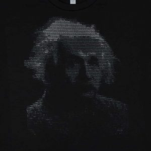 Albert Einstein - ASCII Art | Men's Black T-Shirt
