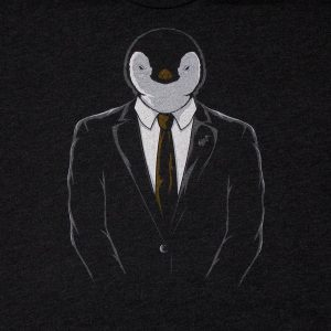 Linux Official Penguin | Tri-Blend Men's T-Shirt