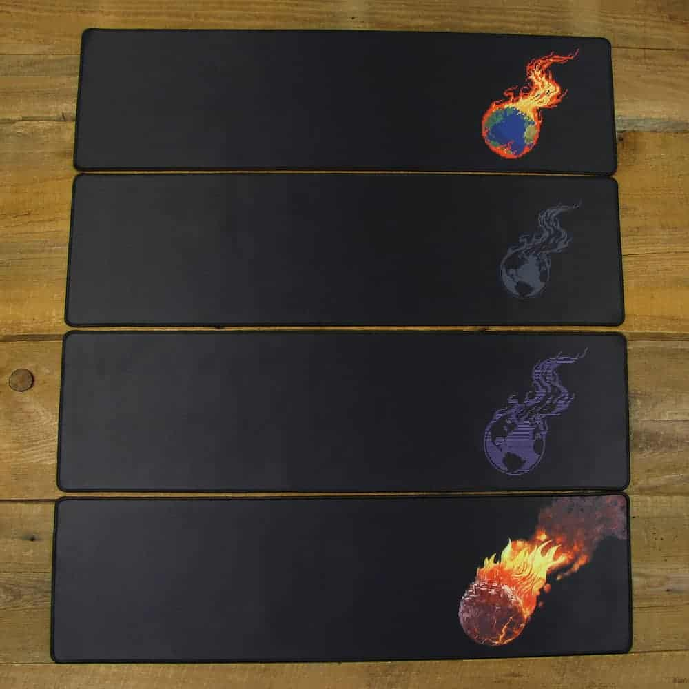 Desk Mat 2-Piece Variety Pack | 90cm x 25cm x 2mm