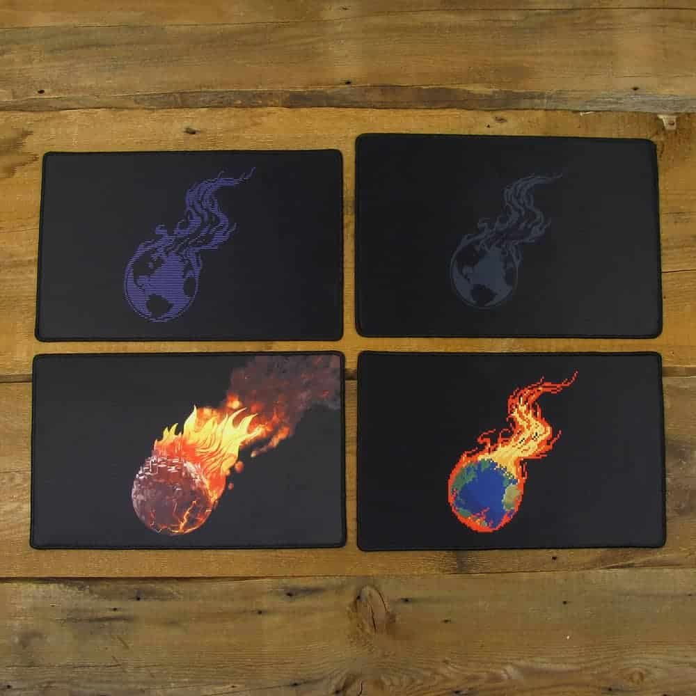 Mouse Pad 2-Piece Variety Pack | 40cm x 25cm x 2mm