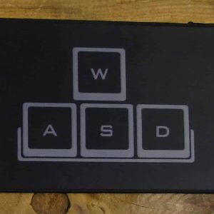 WASD Desk Mat | 90cm x 25cm x 2mm