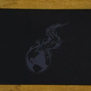 Gray Burning Earth Mousepad | 40cm x 27cm x 2mm