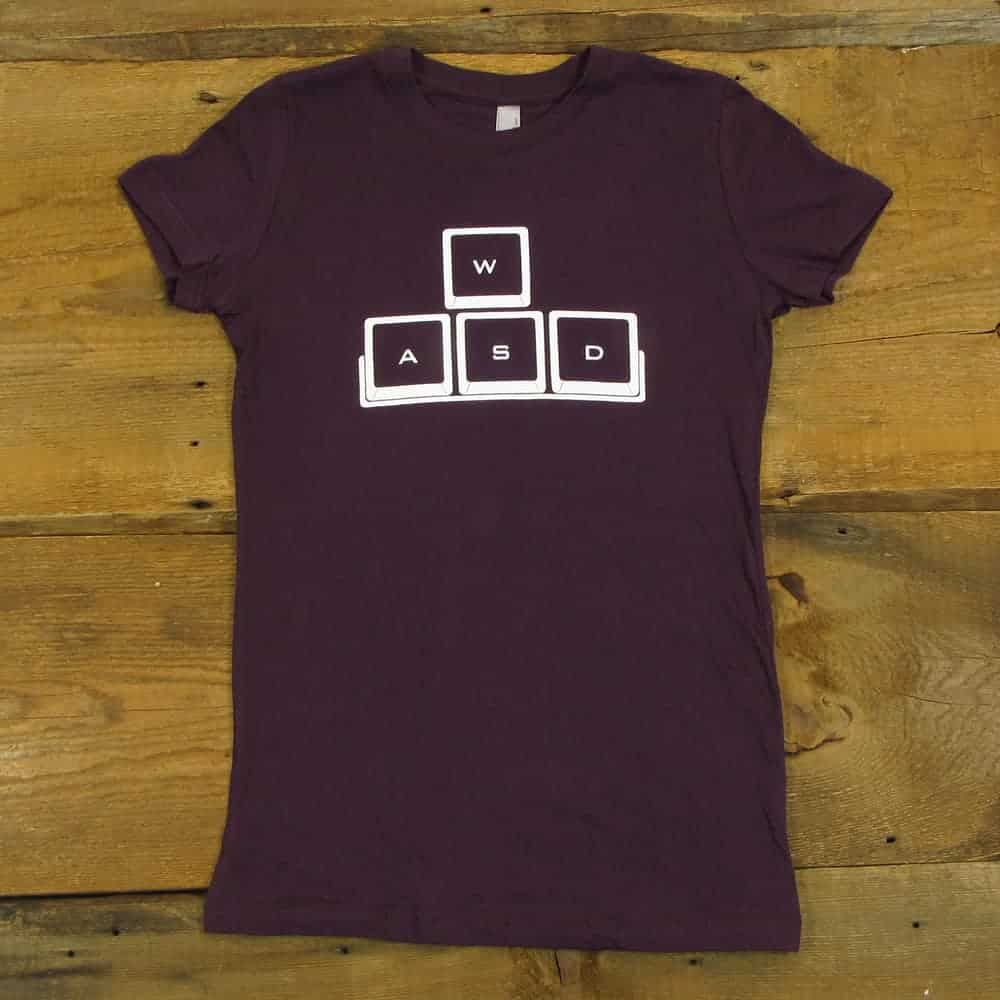 WASD | Women's Plum T-Shirt